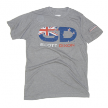 Scott Dixon Flag Logo Tee